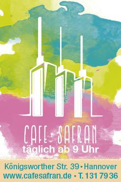 Cafe Safran Hannover Linden