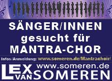SängerInnen gesucht für Mantra-Chor